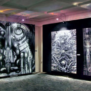 Exposition of Giger in metro